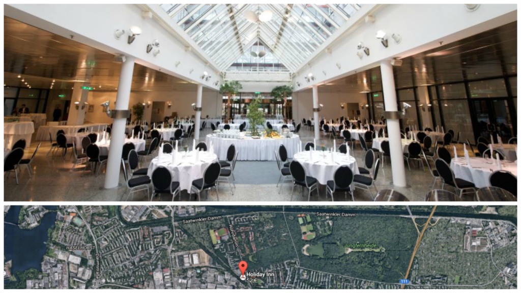 Der Internet Marketing Kongress 2013 fan im Holiday Inn nahe dem Flughafen Berlin Tegel statt.