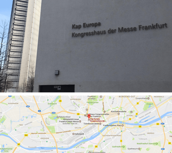 Internet Marketing Kongress 2017 in Frankfurt am Main im Kongress-Zentrum Kap Europa