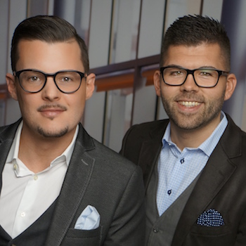 Michael Lamm und Daniel Krespach IMK18