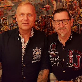 Frank Alm und Uwe Rieder IMK18