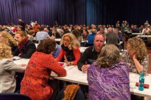 Networking beim Internet Marketing Kongress