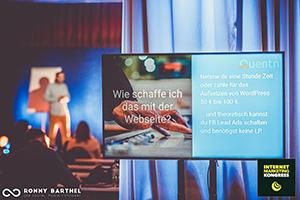 Daniel Dirks auf dem Internet Marketing Kongress 2020 von Heiko Häusler